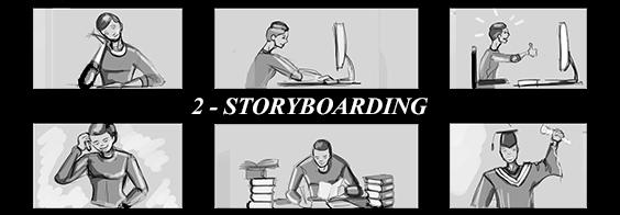 mobile app storyboarding