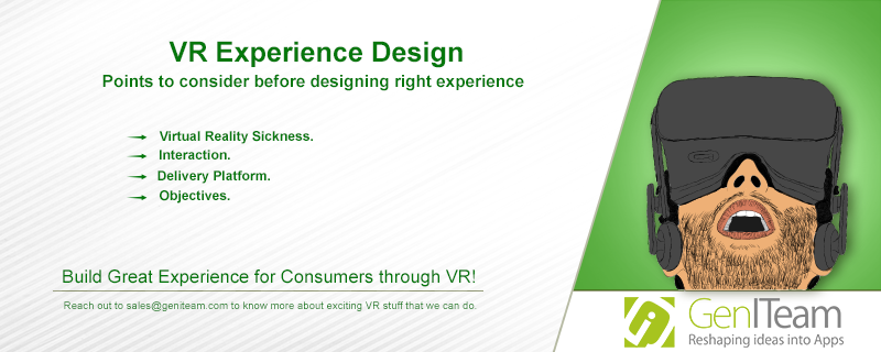 Virtual Reality Experience Design