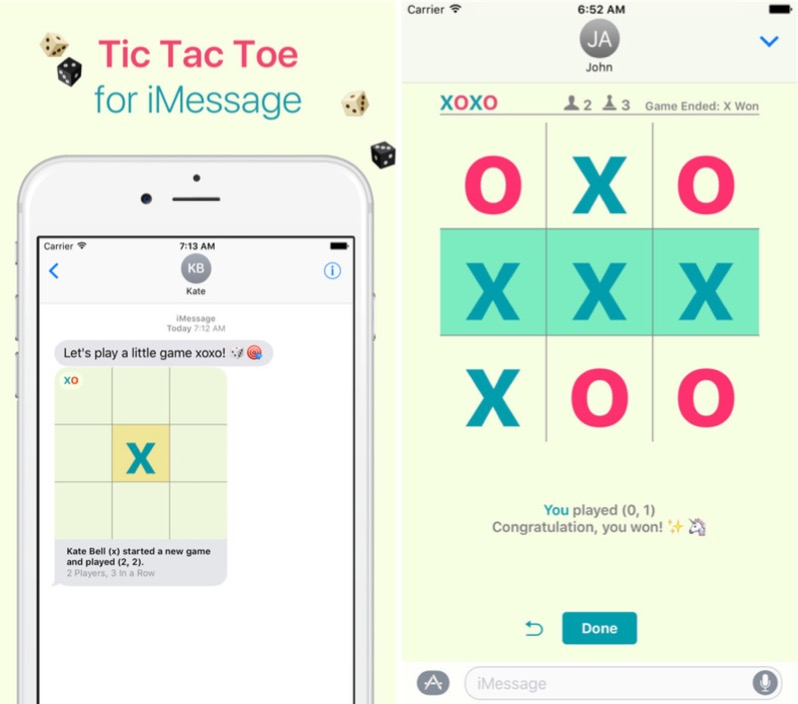 Tic Tac Toe HTML5 game development