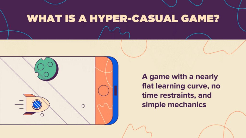Hyper Casual games have no learning curve, no time restrain and simple mechanics,