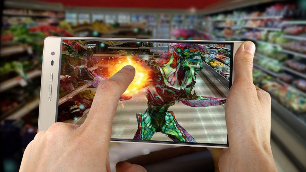 Augmented reality is the future for gaming as it's a new way to attract people. It's an experience which is different from other forms of games.