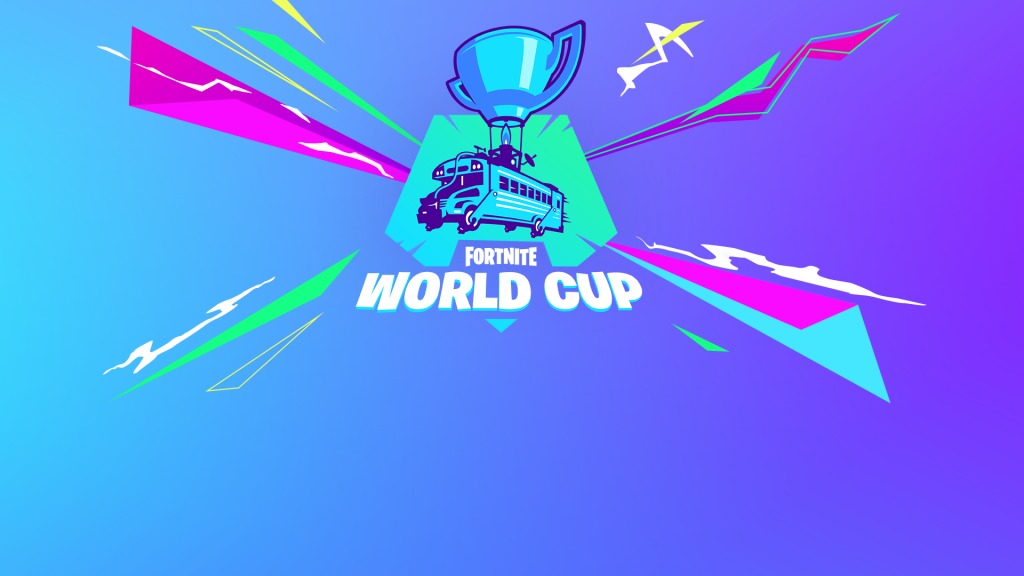 The logo of the Fortnite World Cup
